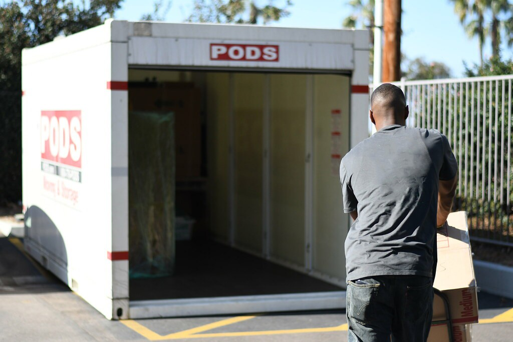 Moving pods companies