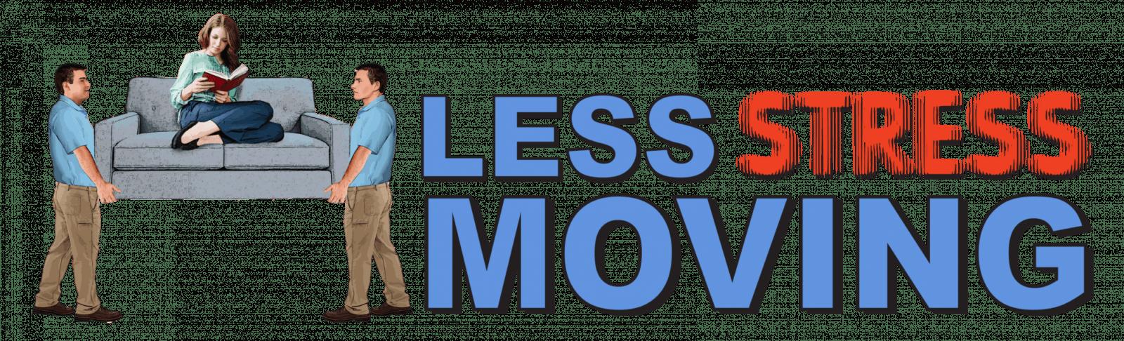 less stress moving