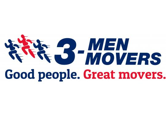 3 Men Movers logo