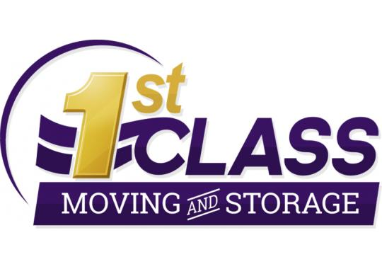 1st Class Moving and Storage logo