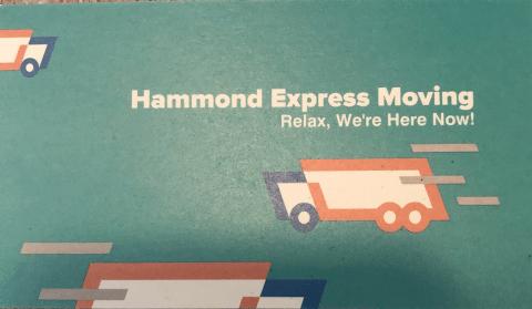Hammond Express Moving logo