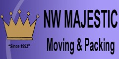 NW Majestic Moving and Packing logo