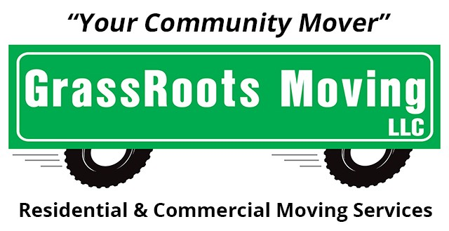 Grass Roots Moving logo