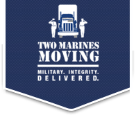 Two Marines Moving logo