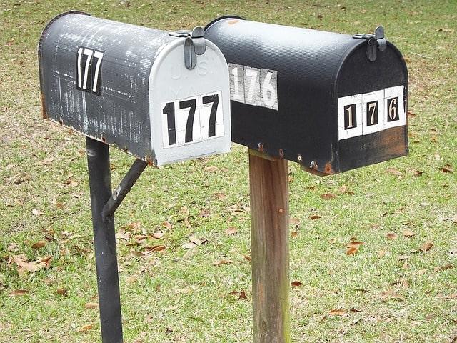 change postal address