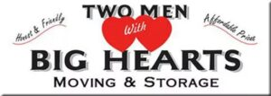 Two Men With Big Hearts Moving & Storage logo
