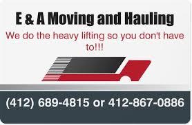 E&A Moving LLC logo