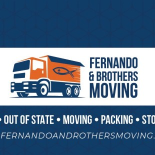 Fernando and Brothers Moving logo