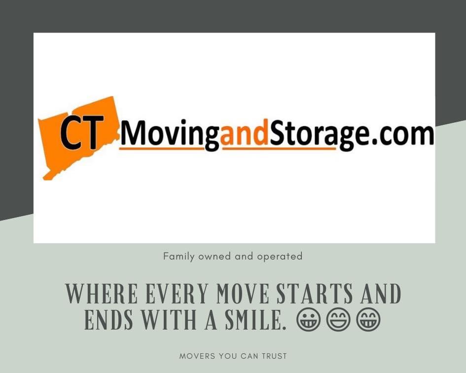CT Moving & Storage logo