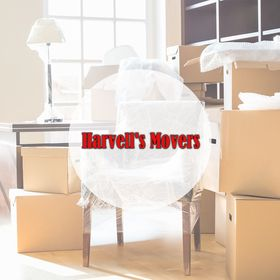 Harvell's Movers logo