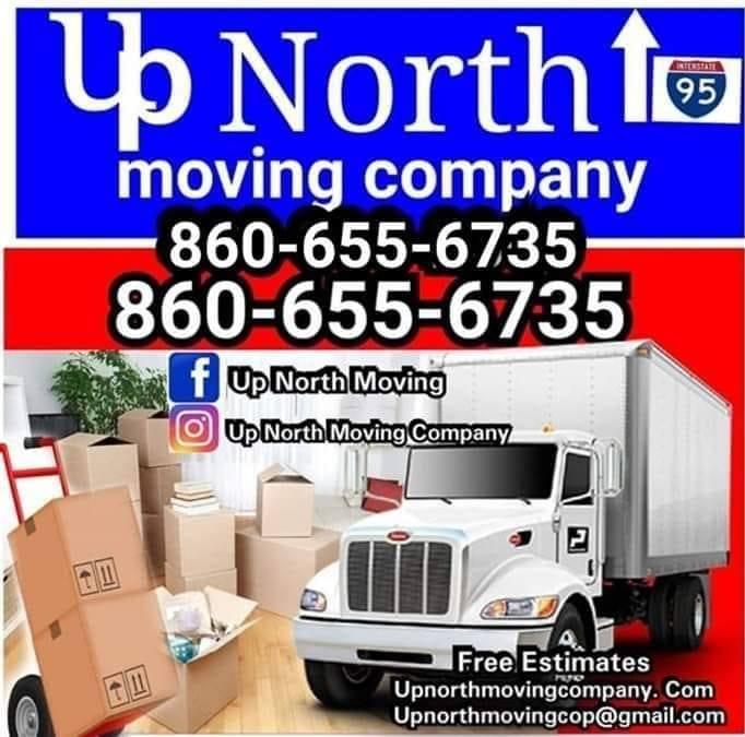 Up north Moving Company logo