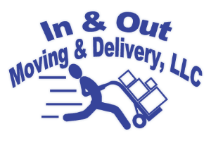In & Out Moving & Delivery logo