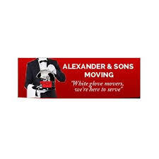 Alexander & Sons Moving logo