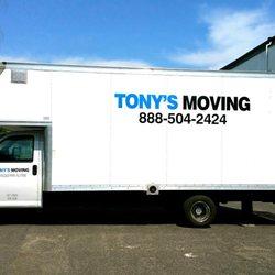 Tony's Moving logo