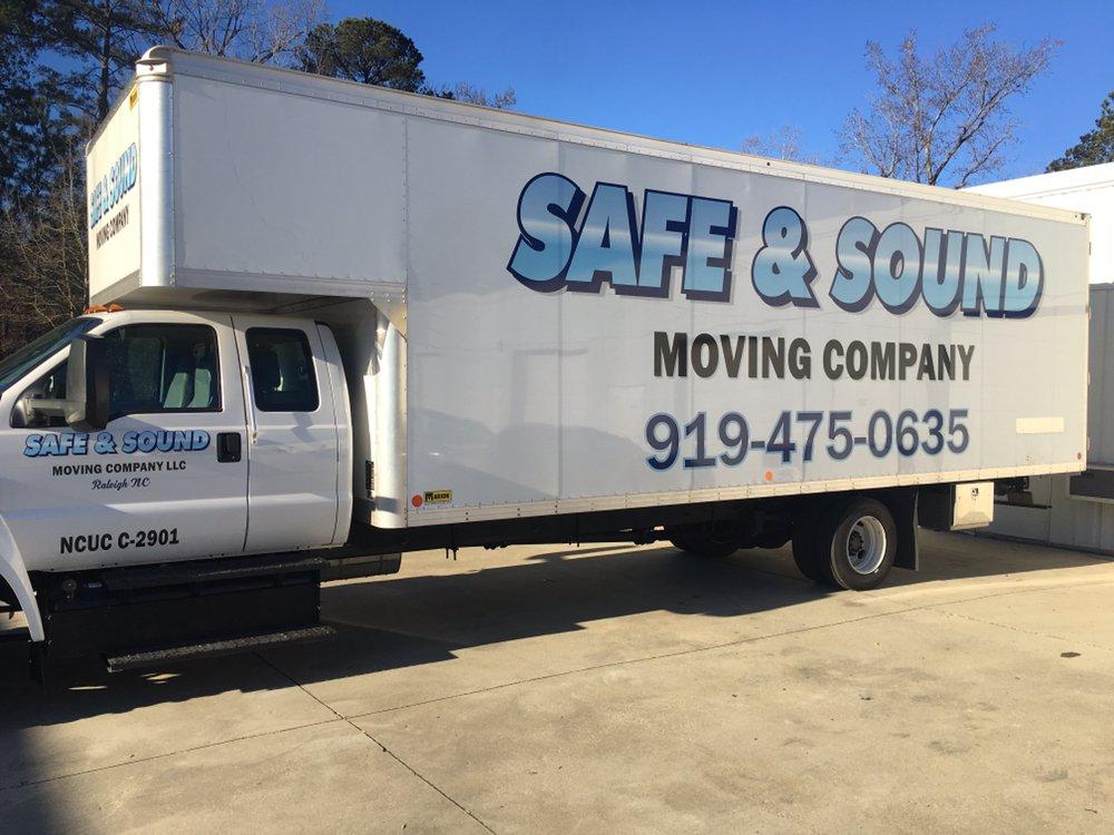 Safe & Sound Moving Company logo