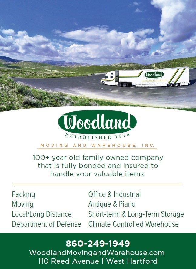 Woodland Moving and Warehouse logo