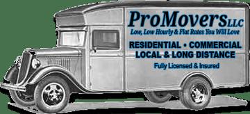 Pro Movers logo