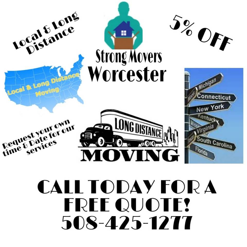 Strong Movers Worcester Company logo