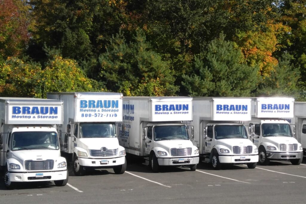 Braun Moving & Storage logo