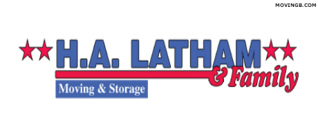 H A Latham & Family Moving & Storage logo