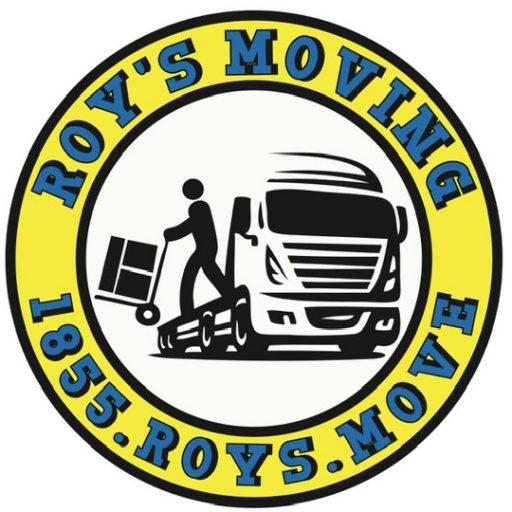 Roy's Moving logo