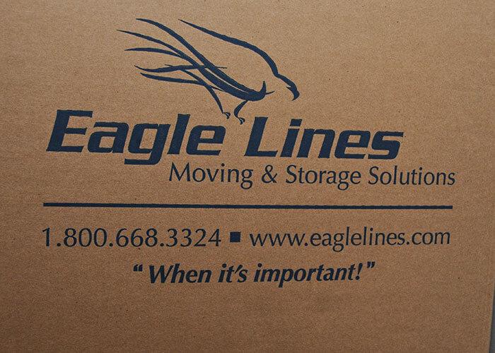 Eagle Lines Moving & Storage logo