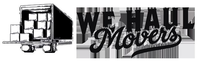 We Haul Movers logo