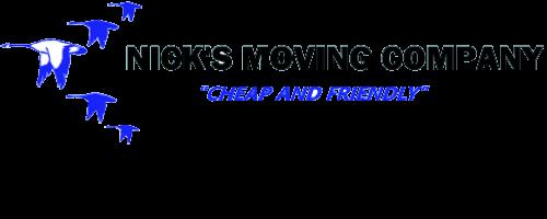 Nick's Moving Company logo