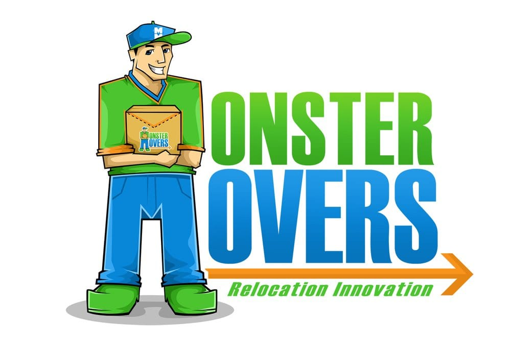 Monster Movers Moving Company logo