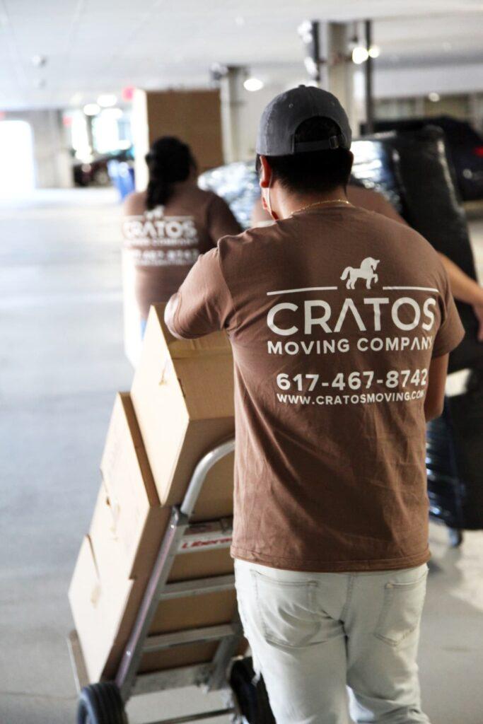 Cratos Moving Company logo