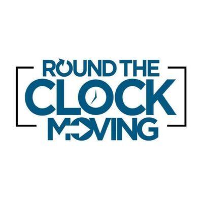 Round The Clock Moving Company logo