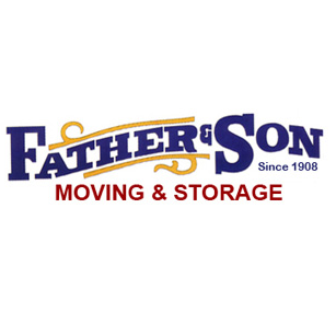 Father and Son Moving & Storage Company logo