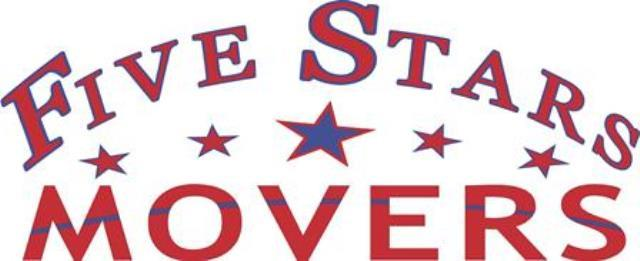 Five Stars Movers Moving Company logo