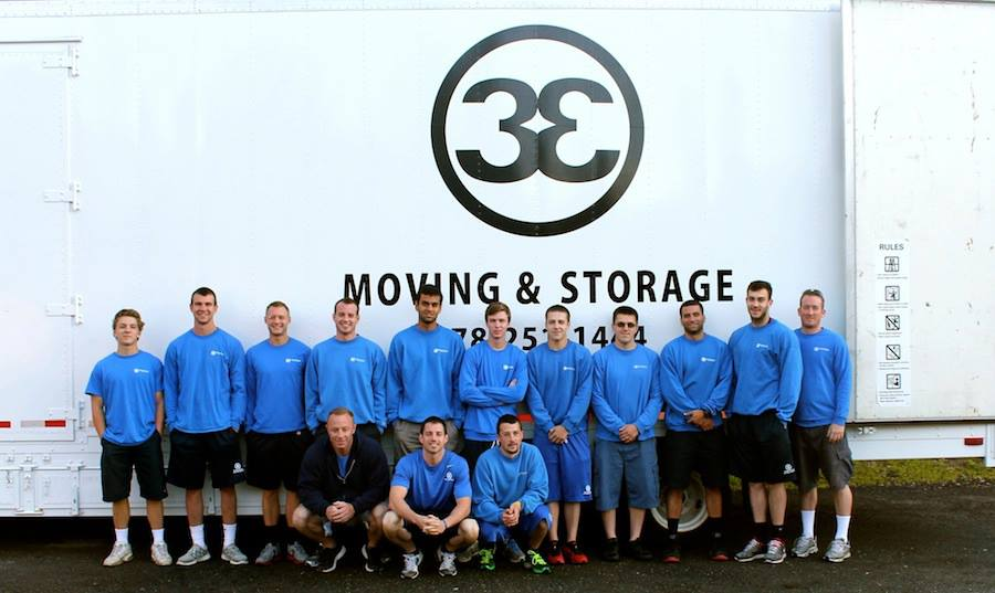 3 E International Moving Company logo