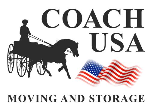 Coach USA Moving and Storage Company logo