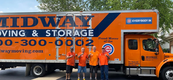 Midway Moving & Storage Company logo