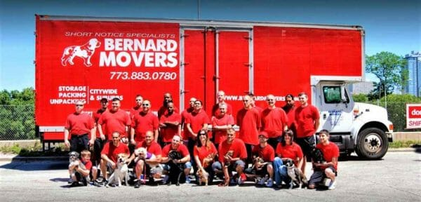 Bernard Movers Company logo
