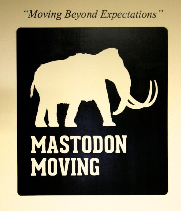 Mastodon Moving Company logo