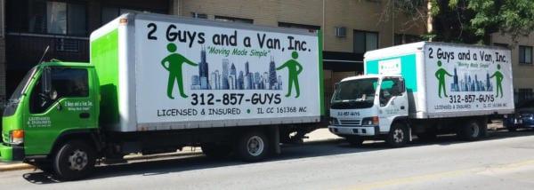 2 Guys and a Van Company logo