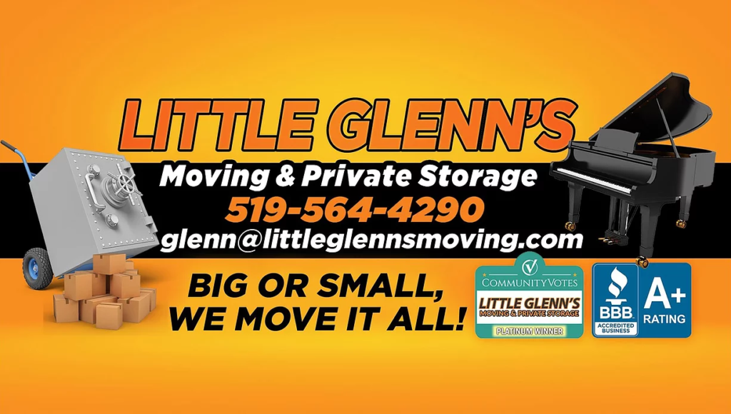 Little Glenn's Moving & Private Storage Company logo
