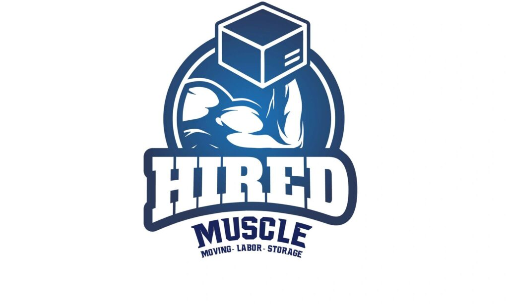 Hired Muscle Moving Company logo