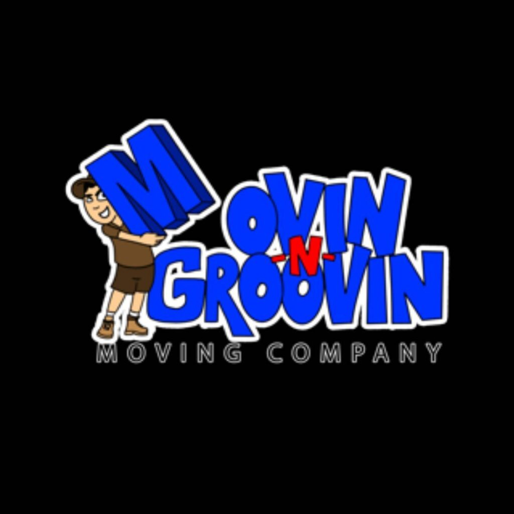 Movin-N-Groovin Moving Company logo