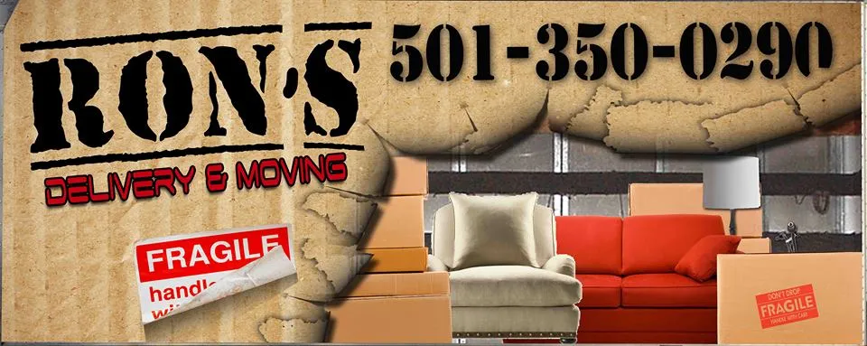 Ron's Delivery & Moving Company logo