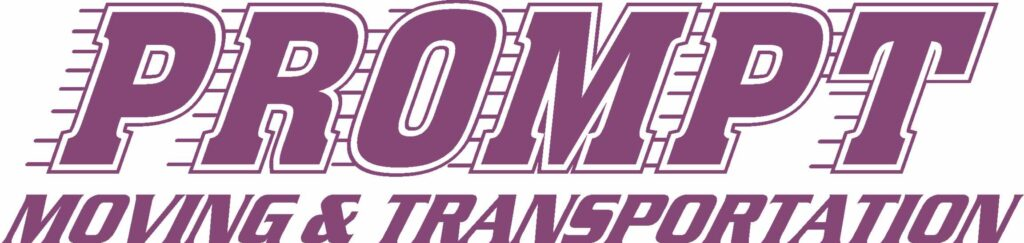 Prompt Moving and Transportation Company logo
