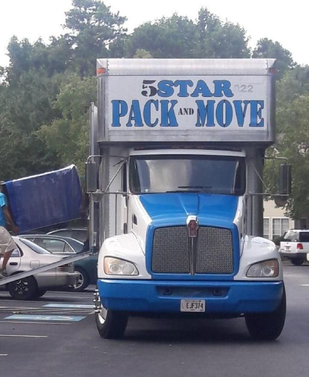 5Star Pack And Move Moving Company logo