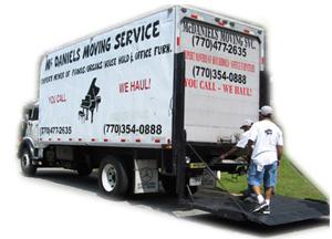 McDaniels Moving Service Company logo