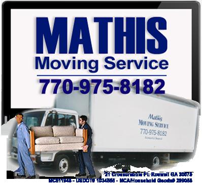 Mathis Moving Service Company logo