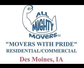All Mighty Movers Company logo